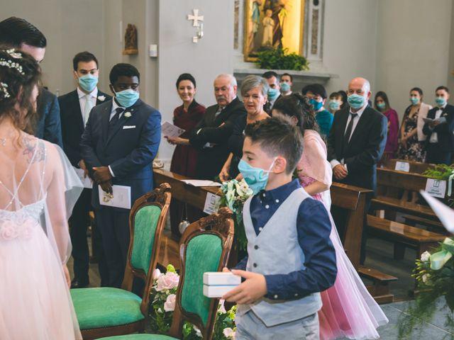 Il matrimonio di Filippo e Giulia a Montorfano, Como 84