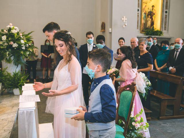 Il matrimonio di Filippo e Giulia a Montorfano, Como 85