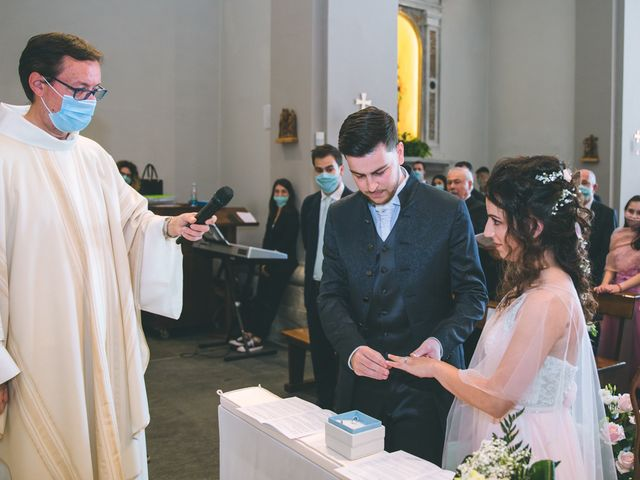 Il matrimonio di Filippo e Giulia a Montorfano, Como 89