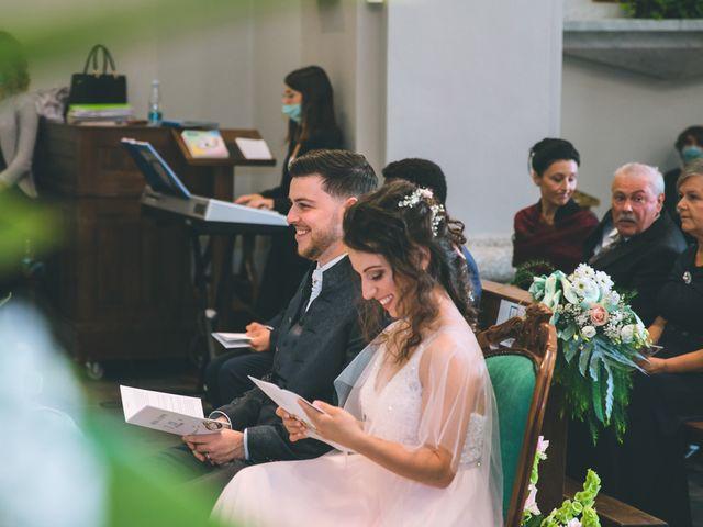 Il matrimonio di Filippo e Giulia a Montorfano, Como 96