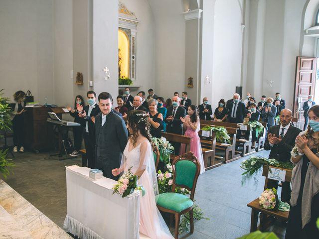Il matrimonio di Filippo e Giulia a Montorfano, Como 103