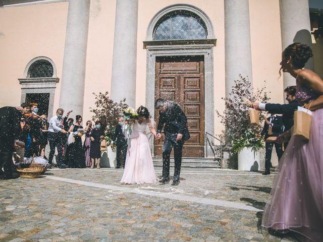 Il matrimonio di Filippo e Giulia a Montorfano, Como 106