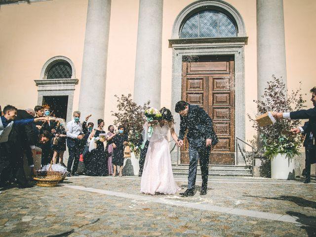 Il matrimonio di Filippo e Giulia a Montorfano, Como 107
