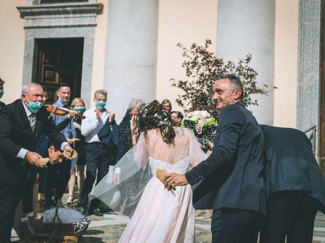 Il matrimonio di Filippo e Giulia a Montorfano, Como 108