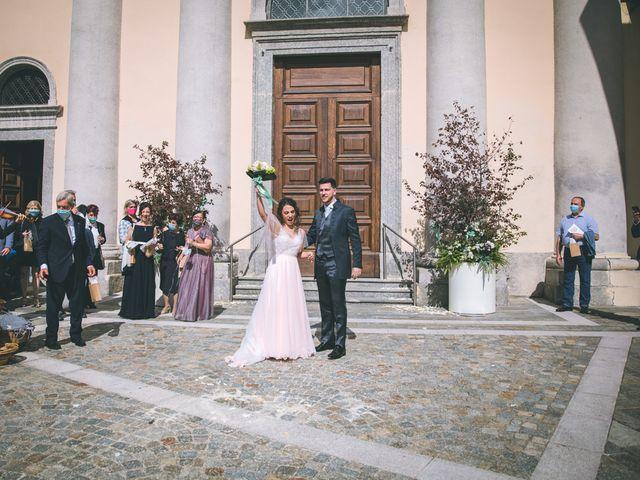 Il matrimonio di Filippo e Giulia a Montorfano, Como 110