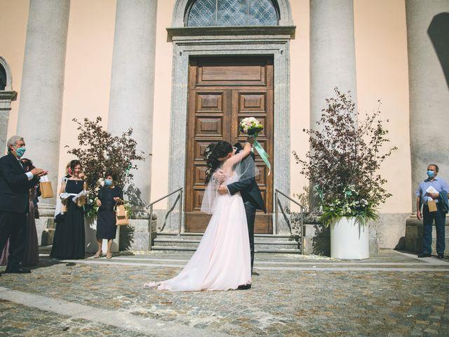 Il matrimonio di Filippo e Giulia a Montorfano, Como 112