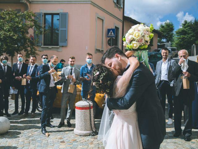 Il matrimonio di Filippo e Giulia a Montorfano, Como 113