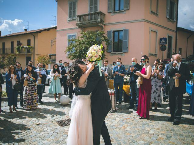Il matrimonio di Filippo e Giulia a Montorfano, Como 114