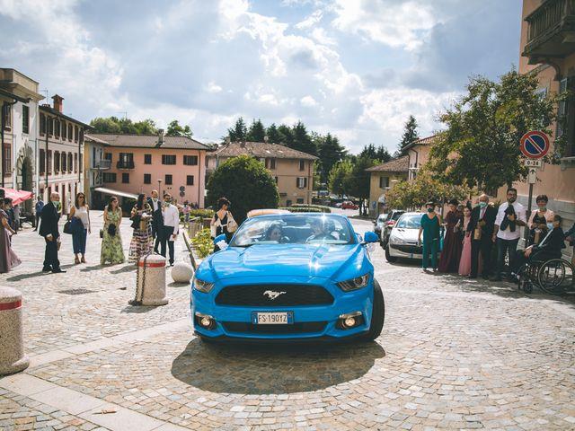 Il matrimonio di Filippo e Giulia a Montorfano, Como 116