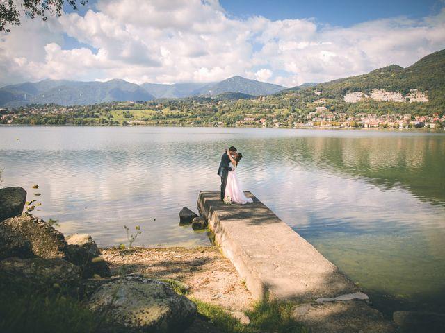 Il matrimonio di Filippo e Giulia a Montorfano, Como 119