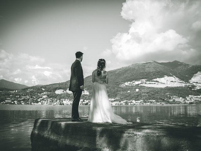 Il matrimonio di Filippo e Giulia a Montorfano, Como 121