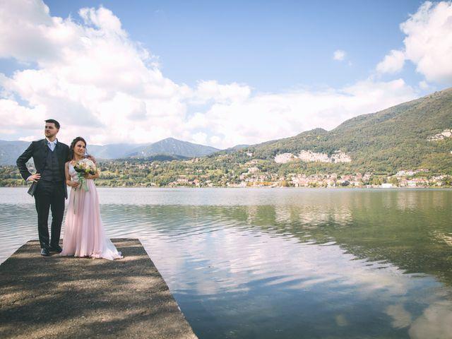 Il matrimonio di Filippo e Giulia a Montorfano, Como 122