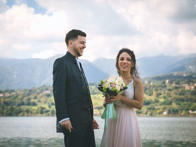 Il matrimonio di Filippo e Giulia a Montorfano, Como 123