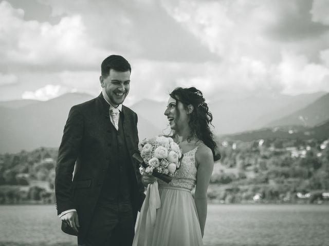 Il matrimonio di Filippo e Giulia a Montorfano, Como 124