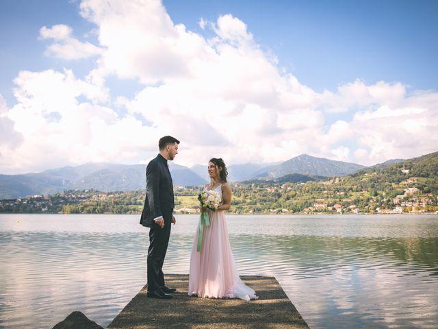 Il matrimonio di Filippo e Giulia a Montorfano, Como 125