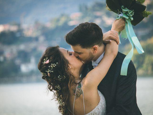 Il matrimonio di Filippo e Giulia a Montorfano, Como 128