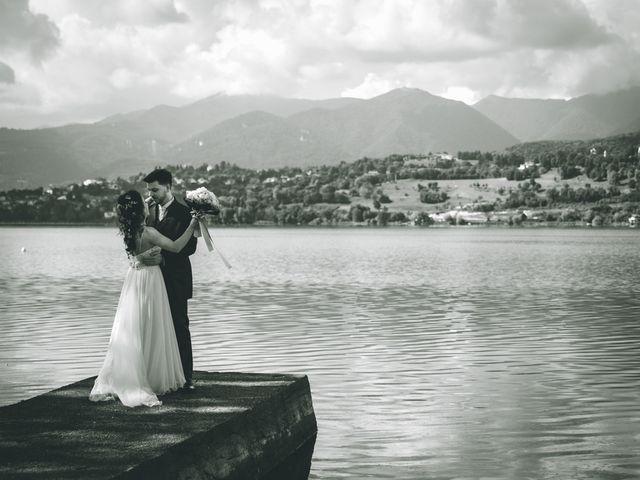Il matrimonio di Filippo e Giulia a Montorfano, Como 129