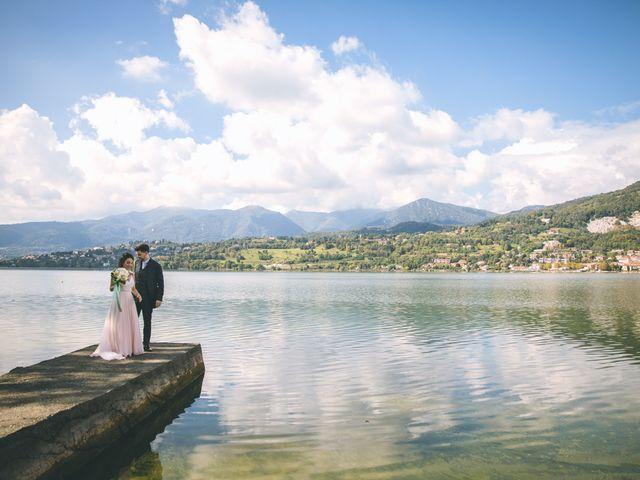 Il matrimonio di Filippo e Giulia a Montorfano, Como 130