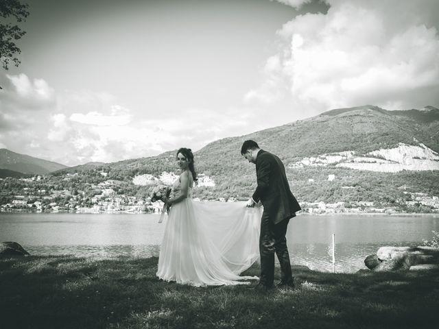 Il matrimonio di Filippo e Giulia a Montorfano, Como 131