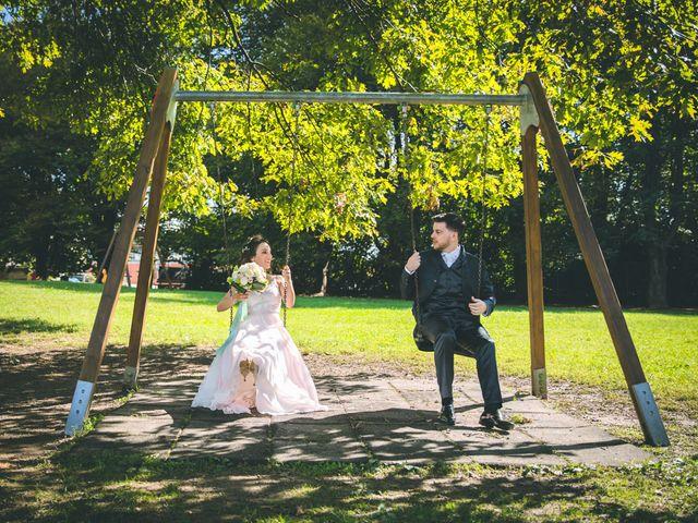 Il matrimonio di Filippo e Giulia a Montorfano, Como 133