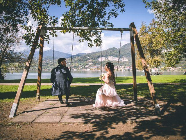 Il matrimonio di Filippo e Giulia a Montorfano, Como 135
