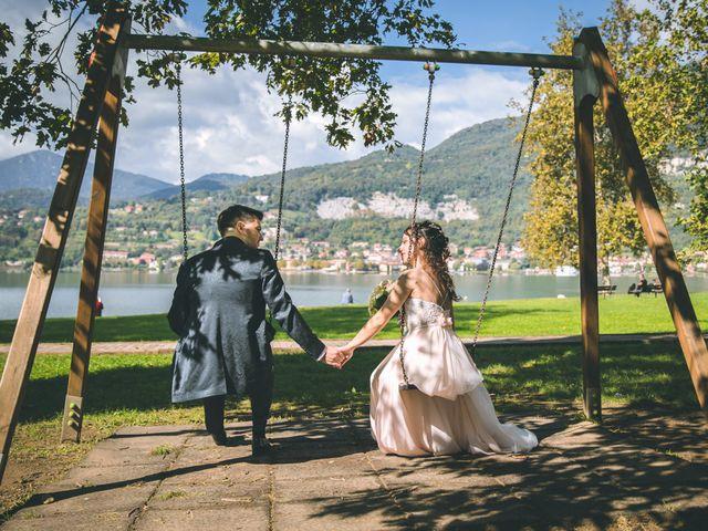 Il matrimonio di Filippo e Giulia a Montorfano, Como 136