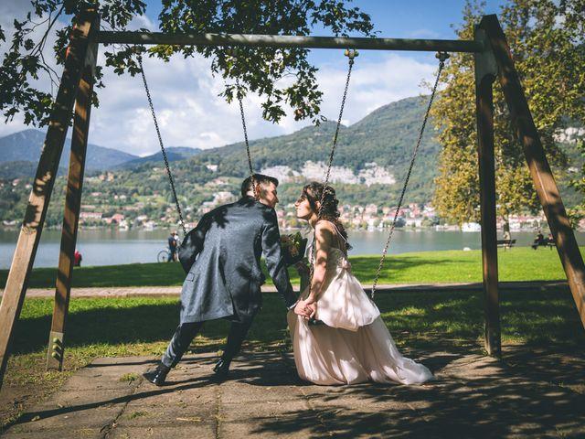 Il matrimonio di Filippo e Giulia a Montorfano, Como 138