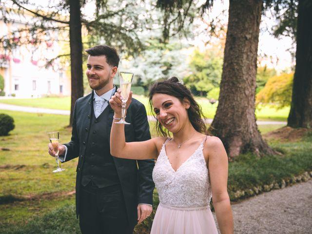 Il matrimonio di Filippo e Giulia a Montorfano, Como 163