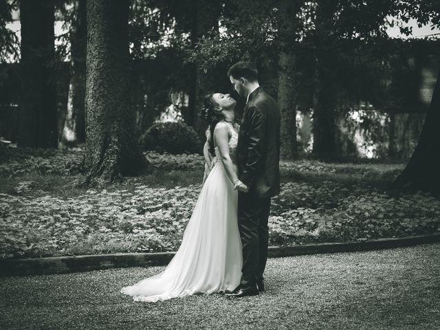Il matrimonio di Filippo e Giulia a Montorfano, Como 201
