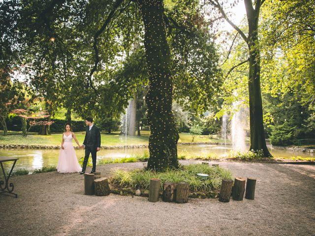 Il matrimonio di Filippo e Giulia a Montorfano, Como 206