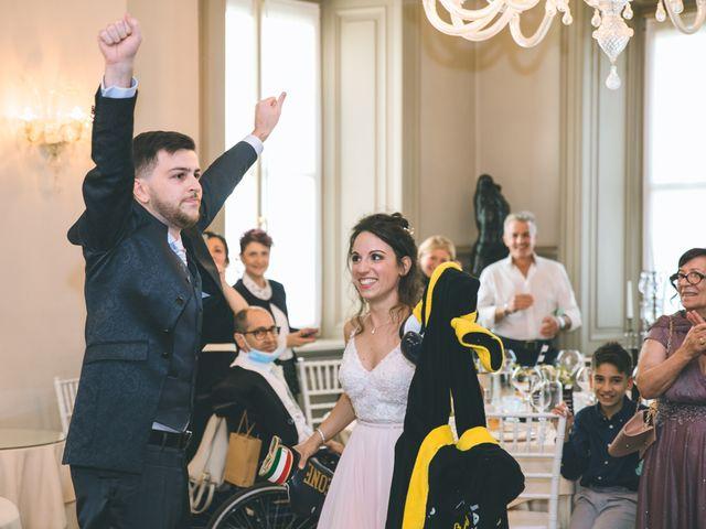 Il matrimonio di Filippo e Giulia a Montorfano, Como 215
