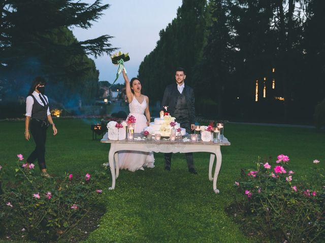Il matrimonio di Filippo e Giulia a Montorfano, Como 254