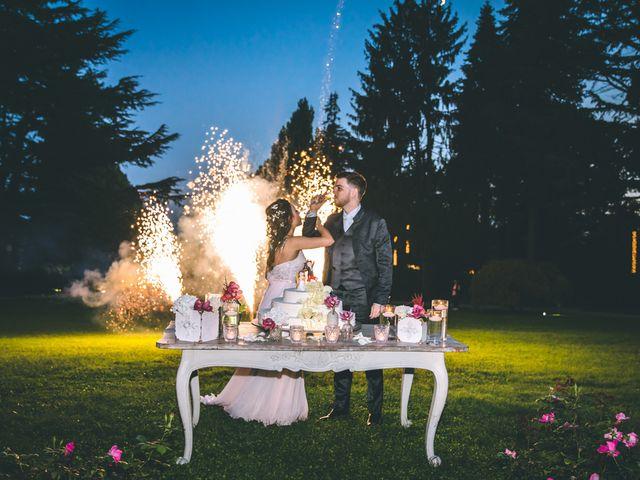 Il matrimonio di Filippo e Giulia a Montorfano, Como 259