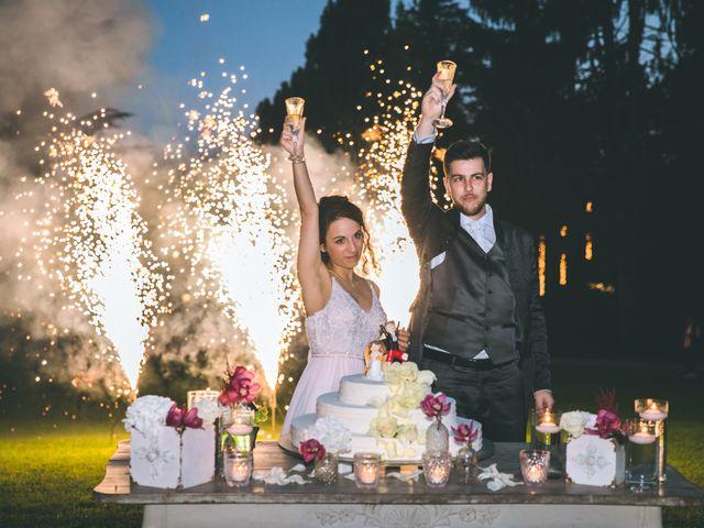 Il matrimonio di Filippo e Giulia a Montorfano, Como 260