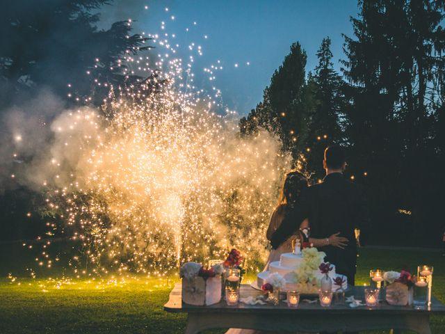 Il matrimonio di Filippo e Giulia a Montorfano, Como 261