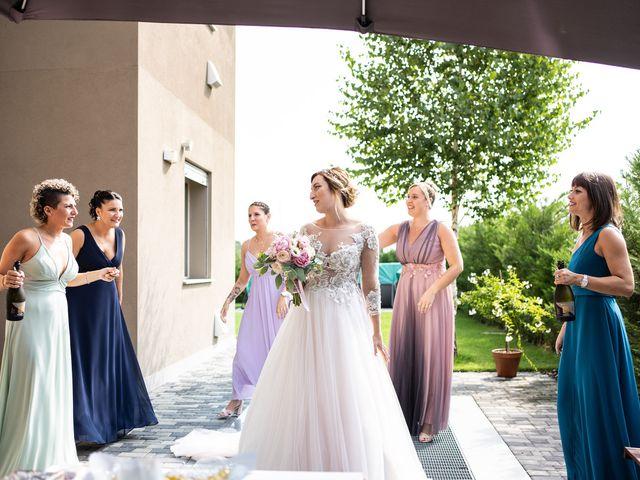 Il matrimonio di Daniele e Nausicaa a Gussago, Brescia 18