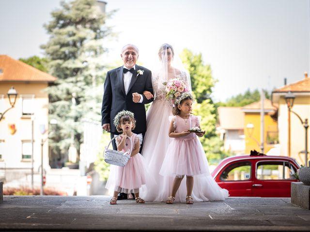 Il matrimonio di Daniele e Nausicaa a Gussago, Brescia 20