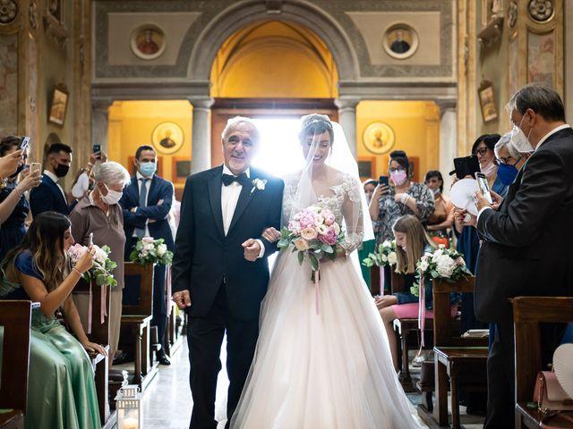 Il matrimonio di Daniele e Nausicaa a Gussago, Brescia 21
