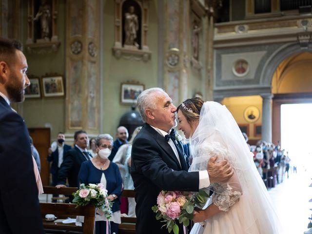 Il matrimonio di Daniele e Nausicaa a Gussago, Brescia 22