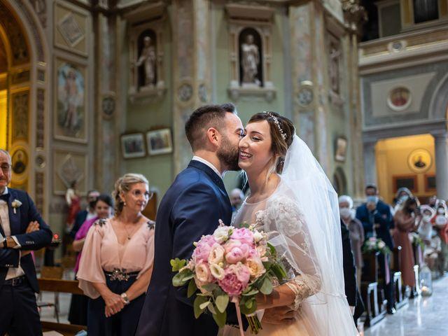 Il matrimonio di Daniele e Nausicaa a Gussago, Brescia 23