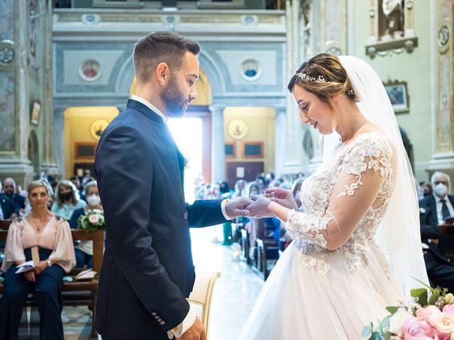 Il matrimonio di Daniele e Nausicaa a Gussago, Brescia 27