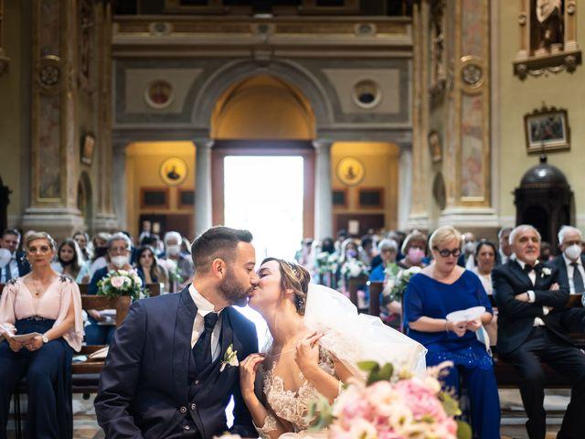 Il matrimonio di Daniele e Nausicaa a Gussago, Brescia 28