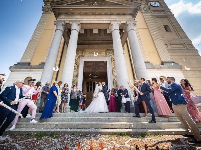 Il matrimonio di Daniele e Nausicaa a Gussago, Brescia 31