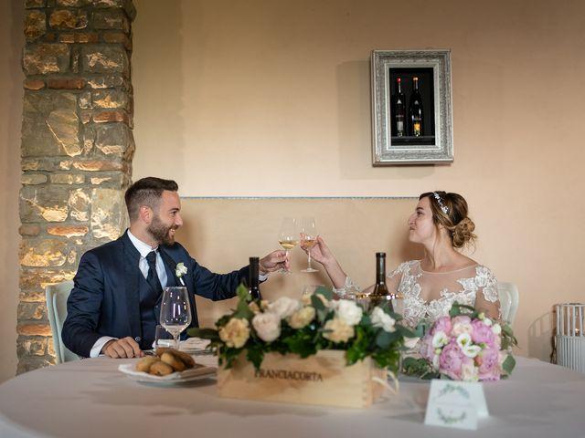 Il matrimonio di Daniele e Nausicaa a Gussago, Brescia 44