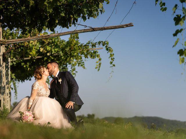 Il matrimonio di Daniele e Nausicaa a Gussago, Brescia 50