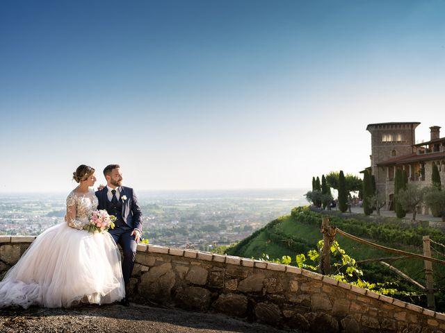 Il matrimonio di Daniele e Nausicaa a Gussago, Brescia 53