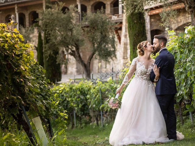 Il matrimonio di Daniele e Nausicaa a Gussago, Brescia 54