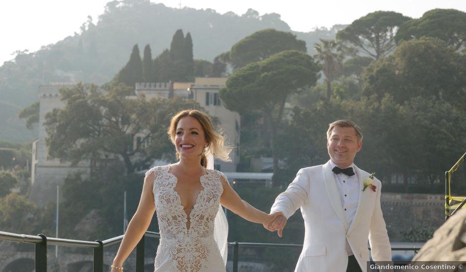 Il matrimonio di Jason e Michelle a Zoagli, Genova