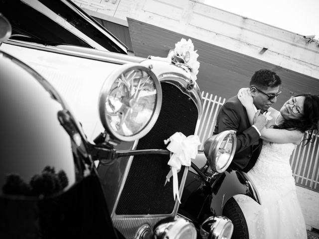 le nozze di Sara e Marco Antonio
