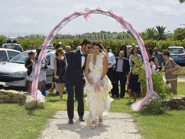 Il matrimonio di Nicola e Virginia a Simaxis, Oristano 2